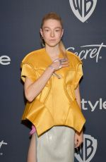 HUNTER SCHAFER at Instyle and Warner Bros. Golden Globe Awards Party 01/05/2020