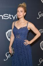 ILIZA SHLESINGER at Instyle and Warner Bros. Golden Globe Awards Party 01/05/2020