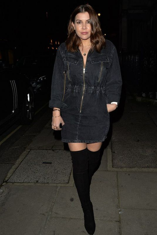 IMOGEN THOMAS at Onima Restaurant in London 01/11/2020