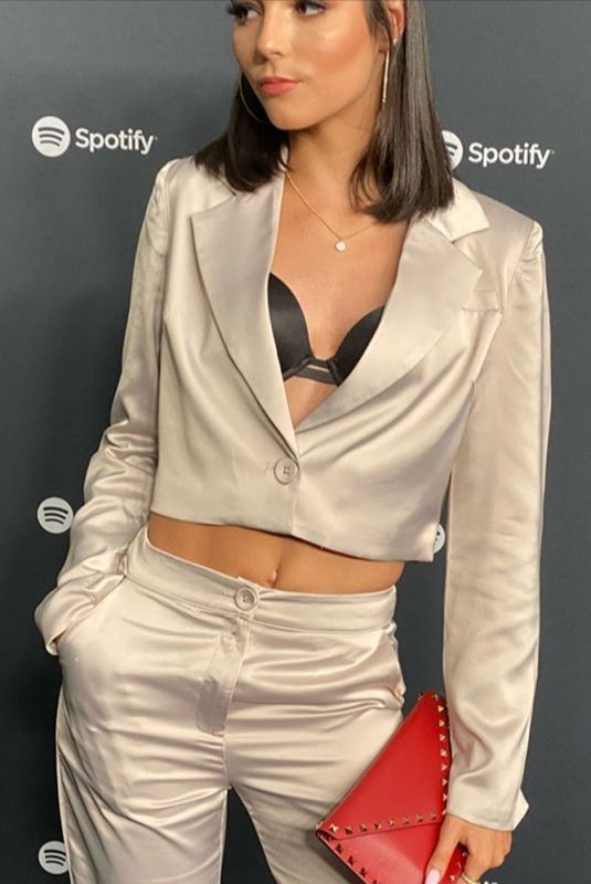 INDIANA MASSARA at Spotify Hosts Best New Artist Party in Los Angeles 01/23/2020