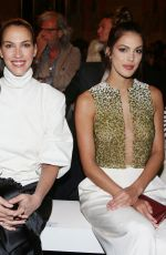 IRIS MITTENAERE at Stephane Rolland Show at Paris Fashion Week 01/21/2020