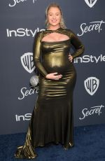ISKRA LAWRENCE at Instyle and Warner Bros. Golden Globe Awards Party 01/05/2020