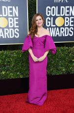 ISLA FISHER at 77th Annual Golden Globe Awards in Beverly Hills 01/05/2020