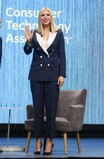 IVANKA TRUMP at CES 2020 in Las Vegas 01/07/2020