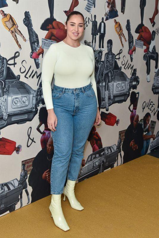 JADA SEZER at Queen & Slim Premiere in London 01/28/2020