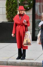 JANE FONDA Leaves Her Hotel in Washington D.C. 12/27/2019