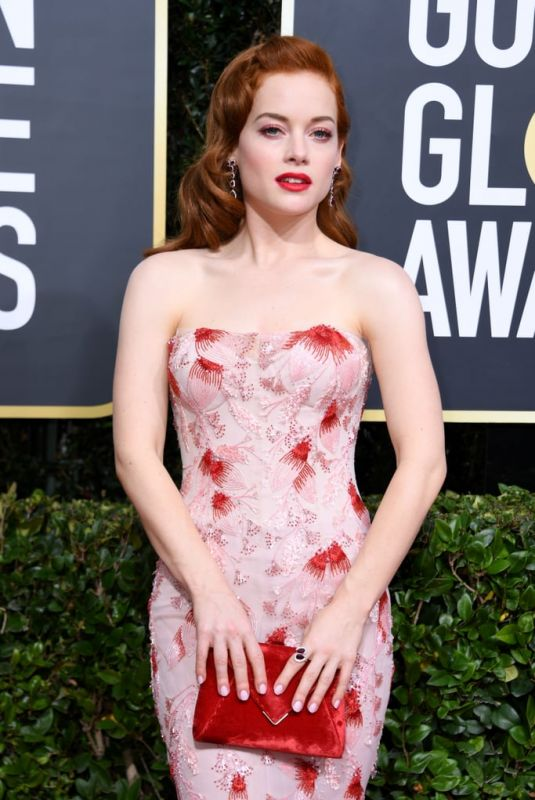 JANE LEVY at 77th Annual Golden Globe Awards in Beverly Hills 01/05/2020
