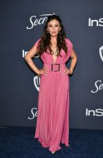 JANEL PARRISH at Instyle and Warner Bros. Golden Globe Awards Party 01/05/2020