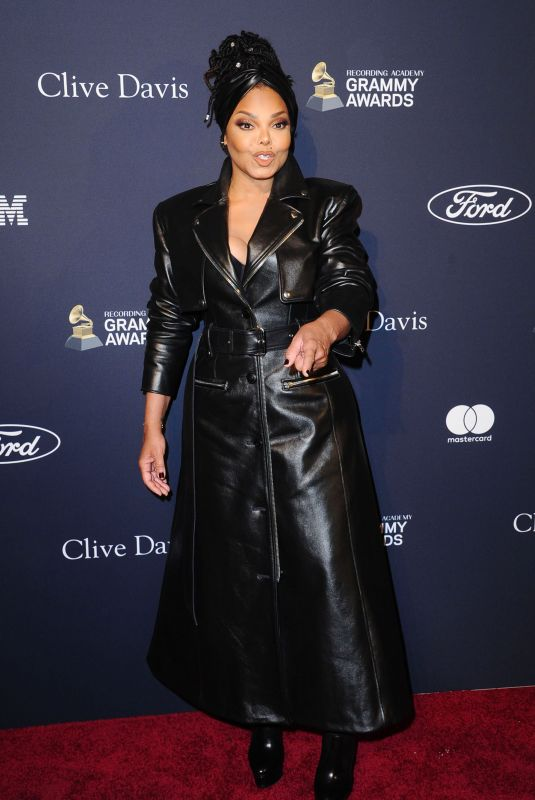JANET JACKSON at Recording Academy and Clive Davis Pre-Grammy Gala in Beverly Hills 01/25/2020