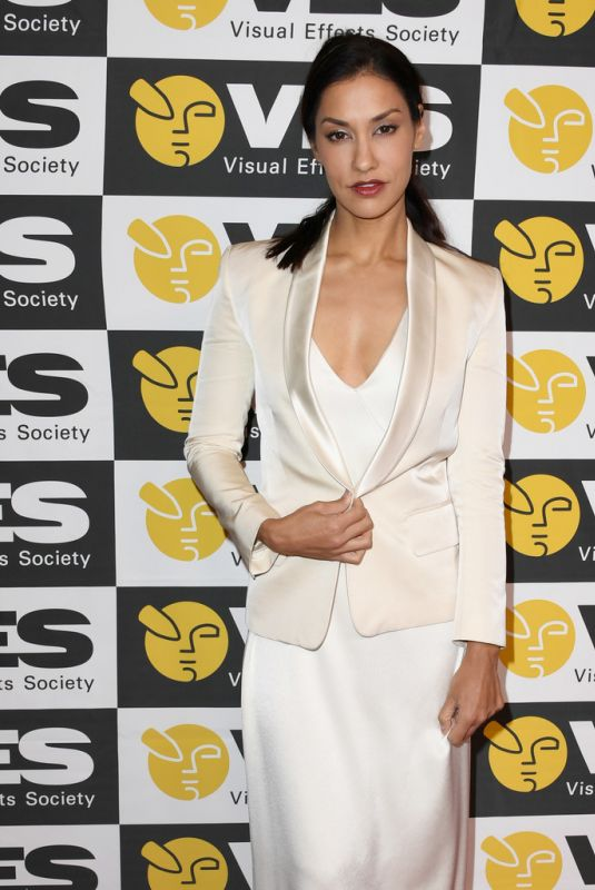 JANINA GAVANKAR at 18th Annual Visual Effects Society Awards in Beverly Hills 01/29/2020