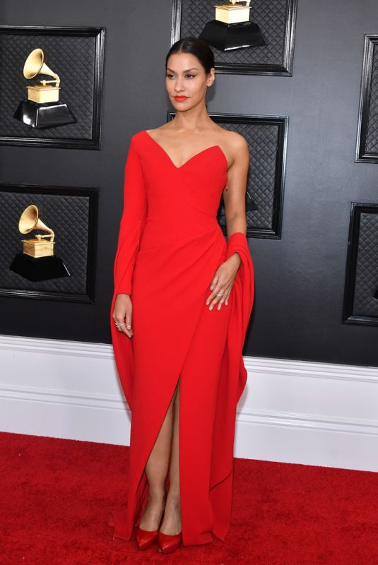 JANINA GAVANKAR at 62nd Annual Grammy Awards in Los Angeles 01/26/2020