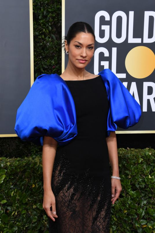 JANINA GAVANKAR at 77th Annual Golden Globe Awards in Beverly Hills 01/05/2020