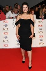 JASMINE ARMFIELD at National Television Awards 2020 in London 01/28/2020