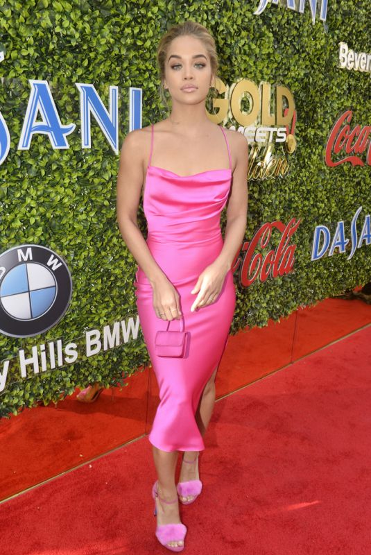 JASMINE SANDERS at 7th Annual Gold Meets Golden in Los Angeles 01/04/2020