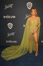 JASMINE SANDERS at Instyle and Warner Bros. Golden Globe Awards Party 01/05/2020
