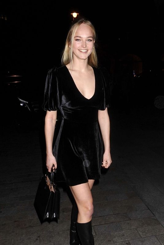 JEAN CAMPBELL at Vanish Airbrush Concealer Launch Party in London 01/27/2020