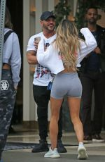 JEN HARLEY and Ronnie Ortiz Leaves Highlight Room Bar in Hollywood 01/21/2020