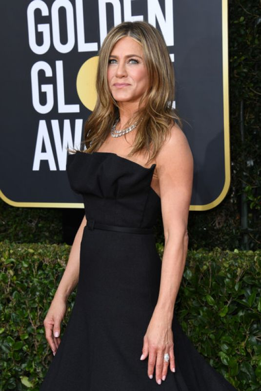 JENNIFER ANISTON at 77th Annual Golden Globe Awards in Beverly Hills 01/05/2020