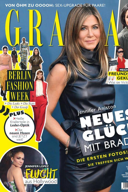 JENNIFER ANISTON in Grazia Magazine, Germany January 2020