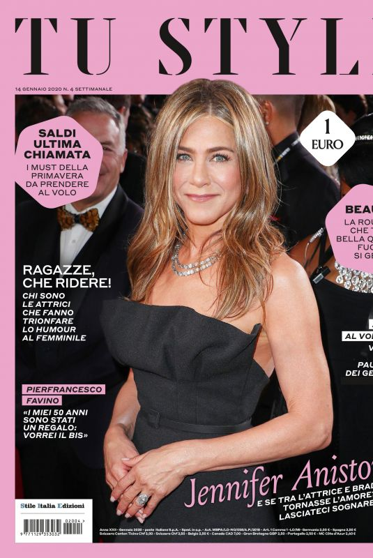 JENNIFER ANISTON in Tu Style Magazine, January 2020