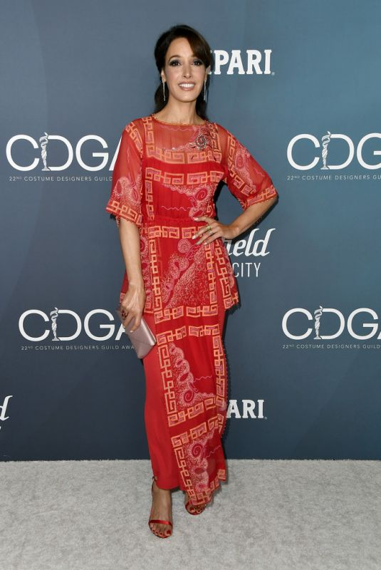 JENNIFER BEALS at 22nd Costumes Designers Guild Awards in Beverly Hills 01/28/2020