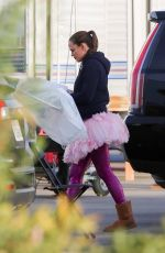 JENNIFER GARNER on the Set of Yes Day in Los Angeles 01/09/2020