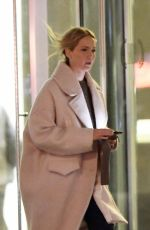 JENNIFER LAWRENCE Out for Dinner in New York 01/07/2020