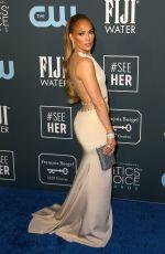 JENNIFER LOPEZ at 25th Annual Critics Choice Awards in Santa Monica 01/12/2020