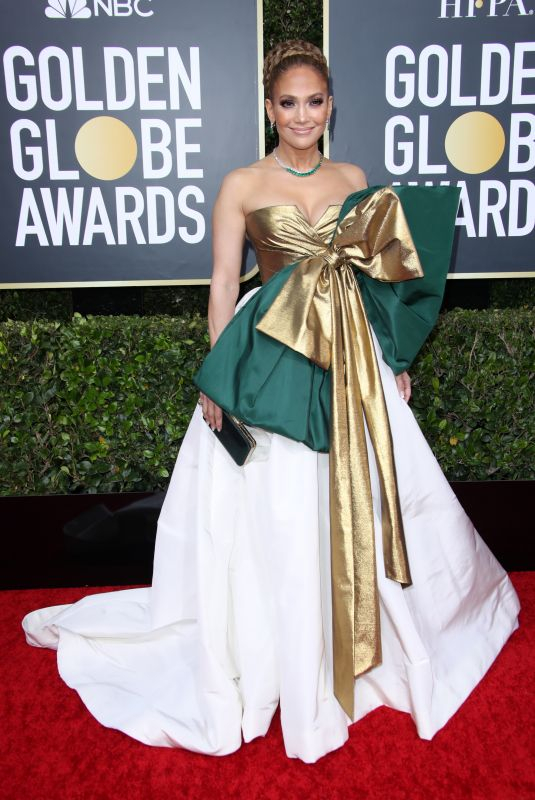 JENNIFER LOPEZ at 77th Annual Golden Globe Awards in Beverly Hills 01/05/2020