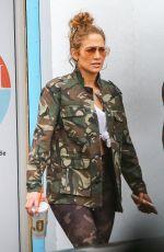 JENNIFER LOPEZ Leaves a Gym in Miami 01/11/2020
