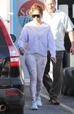 JENNIFER LOPEZ Leavies a Gym in Miami 01/18/2020