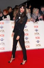 JENNIFER METCALFE at National Television Awards 2020 in London 01/28/2020