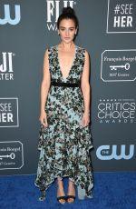 JENNY SLATE at 25th Annual Critics Choice Awards in Santa Monica 01/12/2020