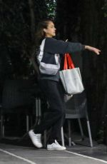 JESSICA ALBA Out and About in West Hollywood 01/16/2020
