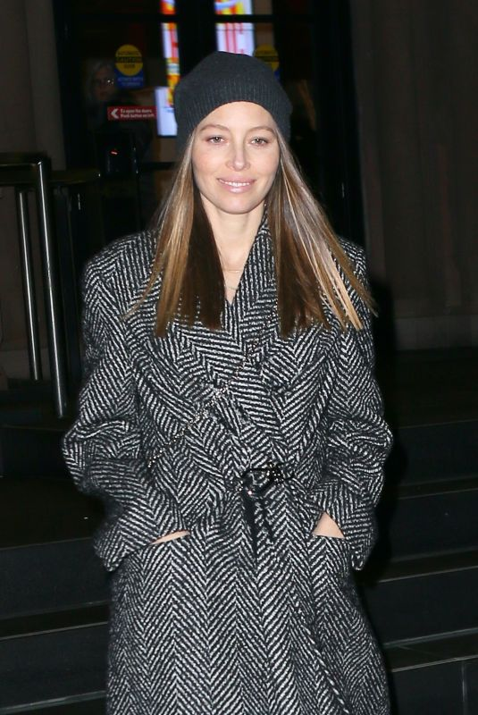 JESSICA BIEL Leaves Generation Women: A Fresh Start Literary Salon at Joe's Pub in New York 02/22/2020