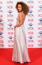 JESSICA PLUMMER at National Television Awards 2020 in London 01/28/2020