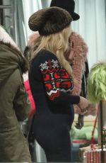 JESSICA SIMPSON Out Shopping in Aspen 12/31/2019