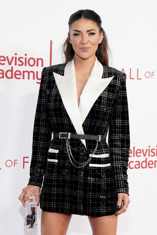 JESSICA SZOHR at Television Academy's 25th Hall of Fame Induction Ceremony 01/29/2020