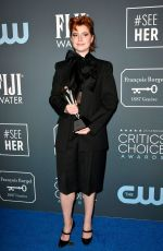 JESSIE BUCKLEY at 25th Annual Critics Choice Awards in Santa Monica 01/12/2020
