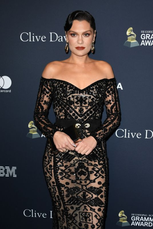 JESSIE J at Recording Academy and Clive Davis Pre-Grammy Gala in Beverly Hills 01/25/2020