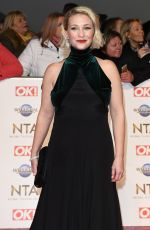 JOANNA PAGE at National Television Awards 2020 in London 01/28/2020