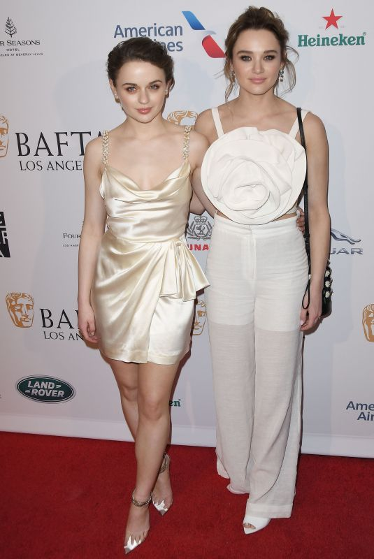 JOEY and HUNTER HALEY KING at Bafta Los Angeles Tea Party 01/04/2020