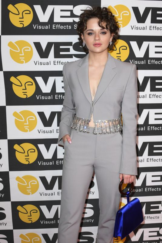 JOEY KING at 18th Annual Visual Effects Society Awards in Beverly Hills 01/29/2020