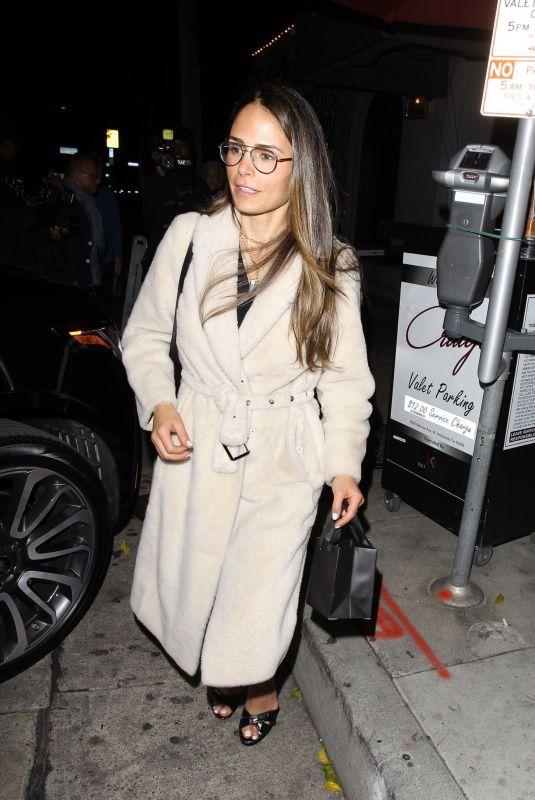JORDANA BREWSTER at Craig's Restaurant in West Hollywood 01/18/2020