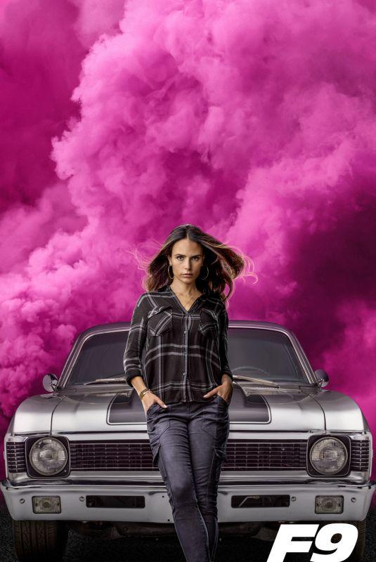 JORDANA BREWSTER – Fast & Furious 9 Promos