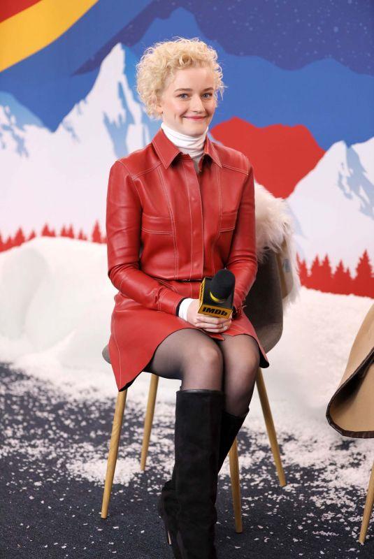 JULIA GARNER at Imdb Studio at Acura Festival Village at Sundance Film Festival 01/26/2020