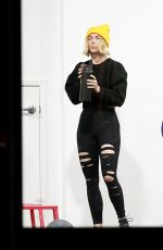 JULIANNE HOUGH at a Gym in Los Angeles 01/13/2020