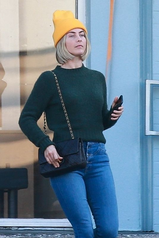 JULIANNE HOUGH Out and About in Studio City 01/13/2020