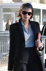 KAIA GERBER Arrives at Chanel Fashion Show at PFW in Paris 01/21/2020