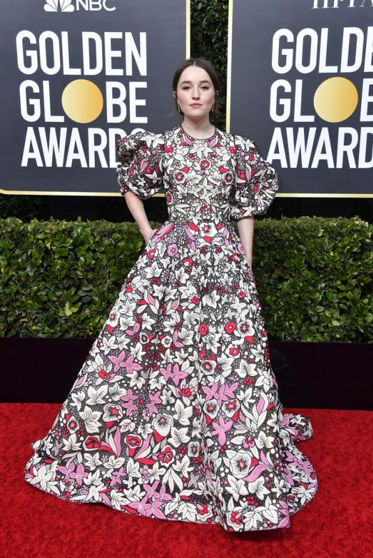 KAITLYN DEVER at 77th Annual Golden Globe Awards in Beverly Hills 01/05/2020